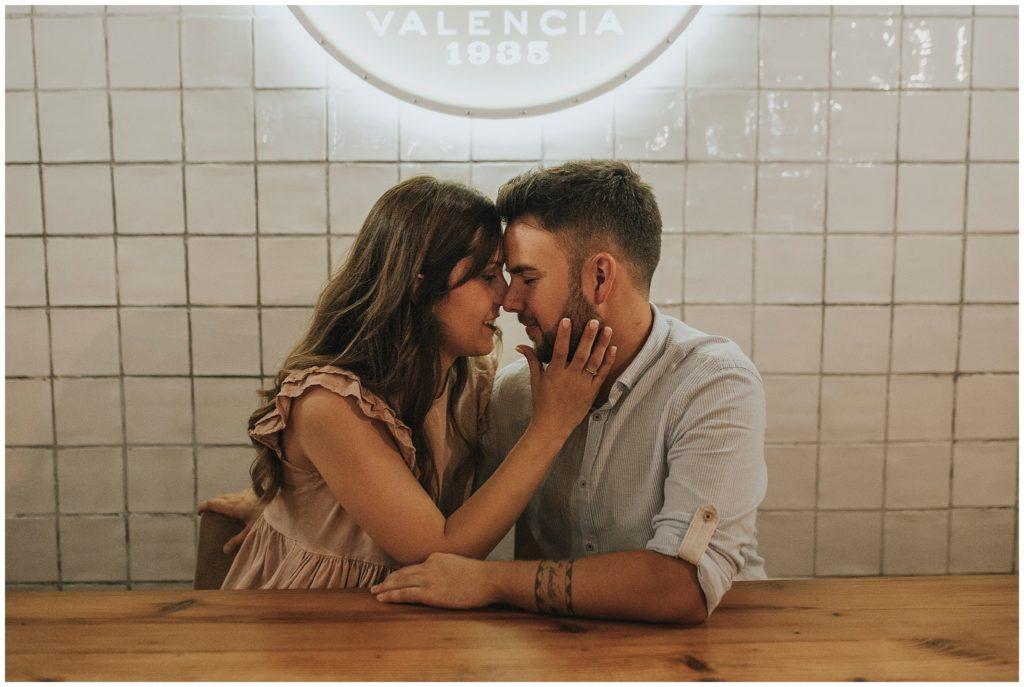 Pre boda Valencia Anna Sansixto. El Carmen. Turia