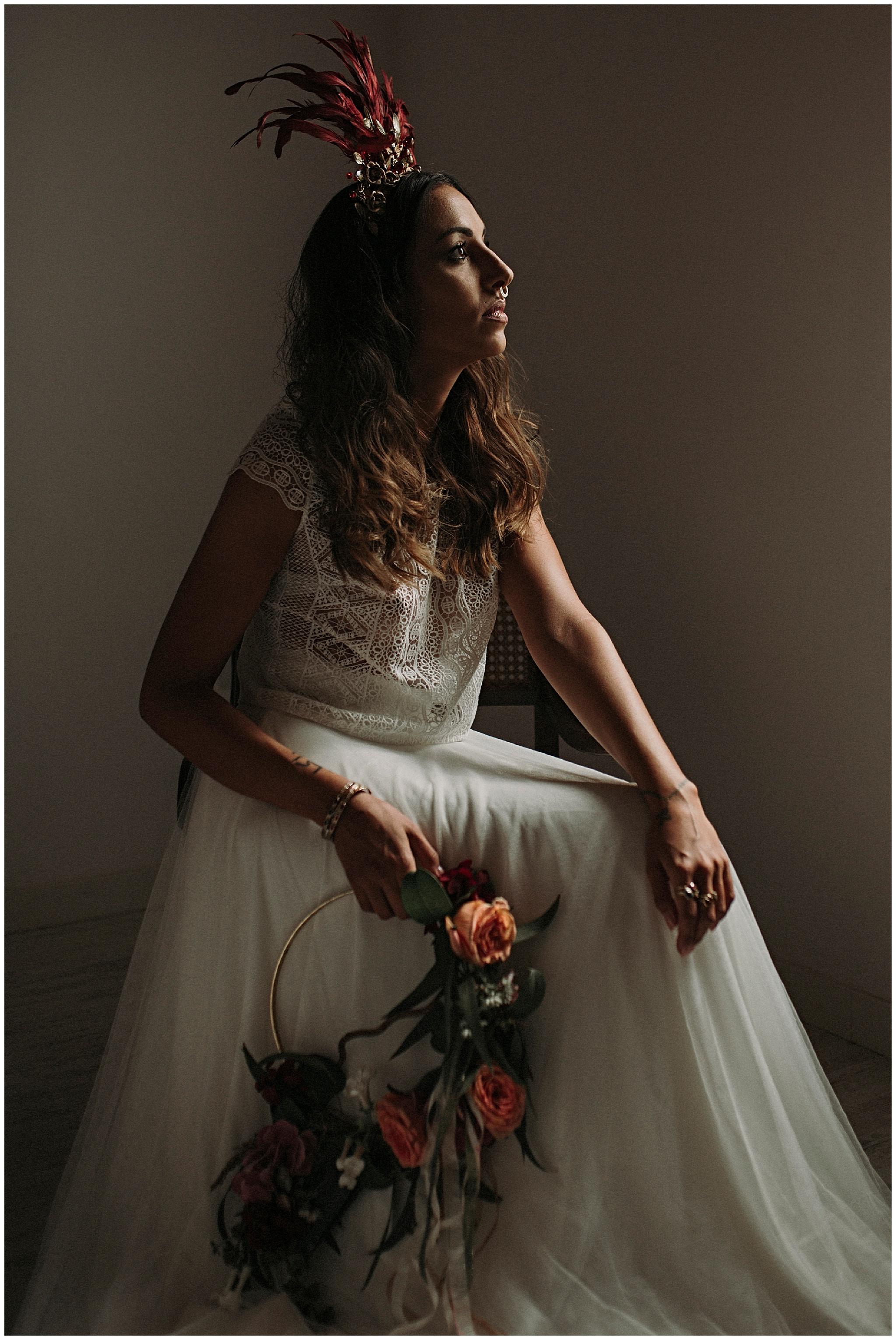 Editorial Otaduy. Casa Santonja. Inspiración novias boho chic. Fotografía bodas Valencia y Alicante. Anna Sansixto.